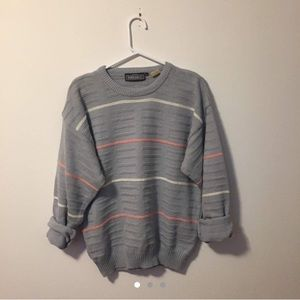 Sweaters - Oversized baby blue sweater